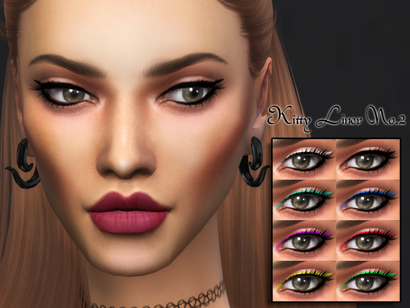 Kitty Liner No.2 by kittymeow
