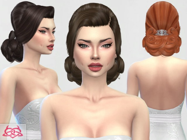 Wedding hairstyle by Colores Urbanos