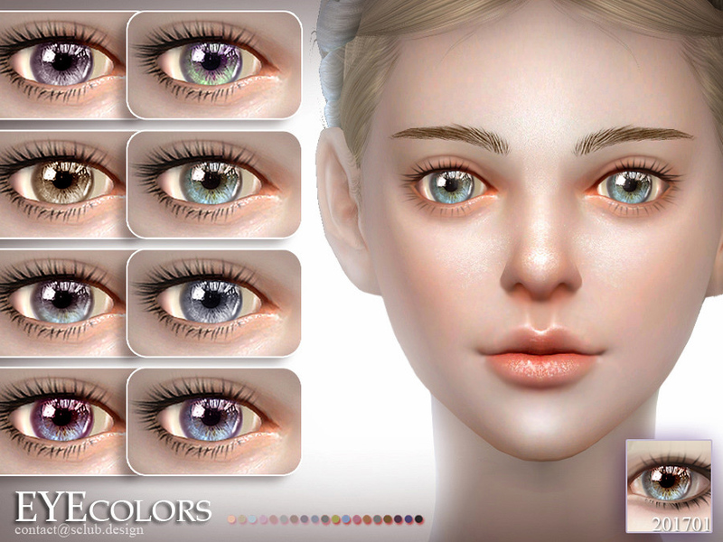 S-Club LL ts4 Eyecolor 201702 by S-Club