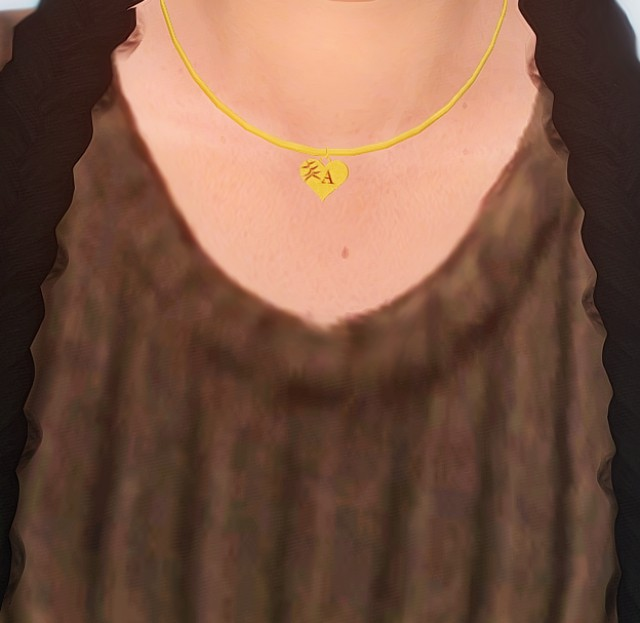 A-Z Necklace by Tallsimmer
