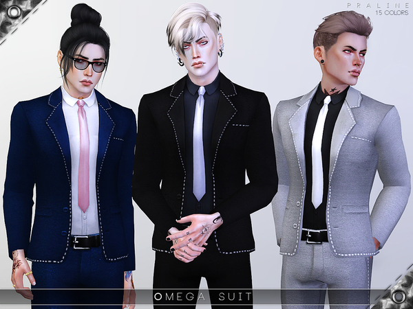 Omega Suit by Pralinesims