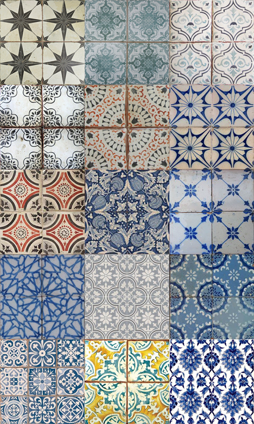 Tile Patterns by goodnightlittlewing