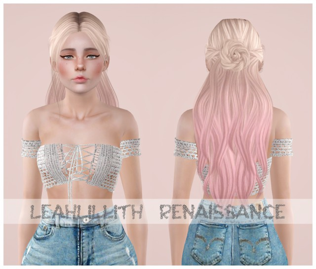 Leahlillith - Renaissance & Leahlillith - Pretty Thoughts by Simmedmywayuptothetop