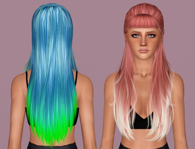 Simsoficeandfire - Stone Hair by IfcaSims