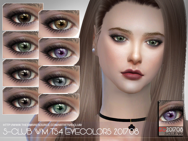 S-Club WM ts4 Eyecolors 201708