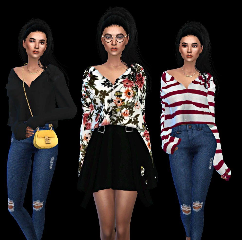 Mona Top by Leo-Sims