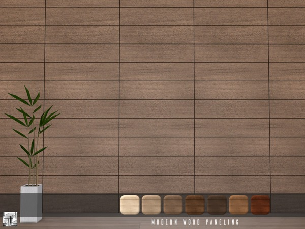 Modern Wood Paneling by Torque
