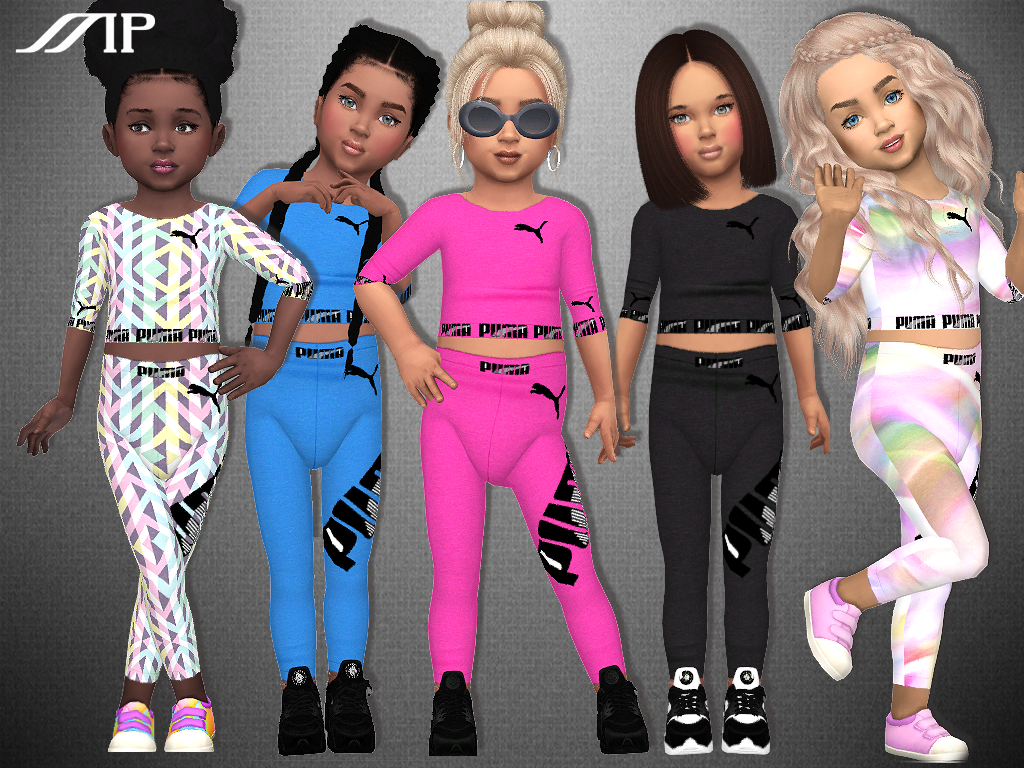 MP Toddler Puma Outfit 2 by MartyP