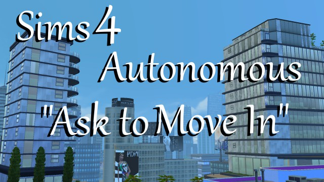 "Автономные переезды - Autonomous ""Ask to Move In"" by PolarBearSims"