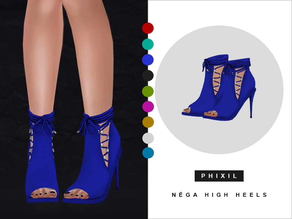 Shoes by Phixil Sims