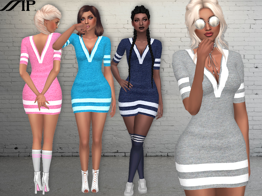 MP Sporty Slim Dress by MartyP
