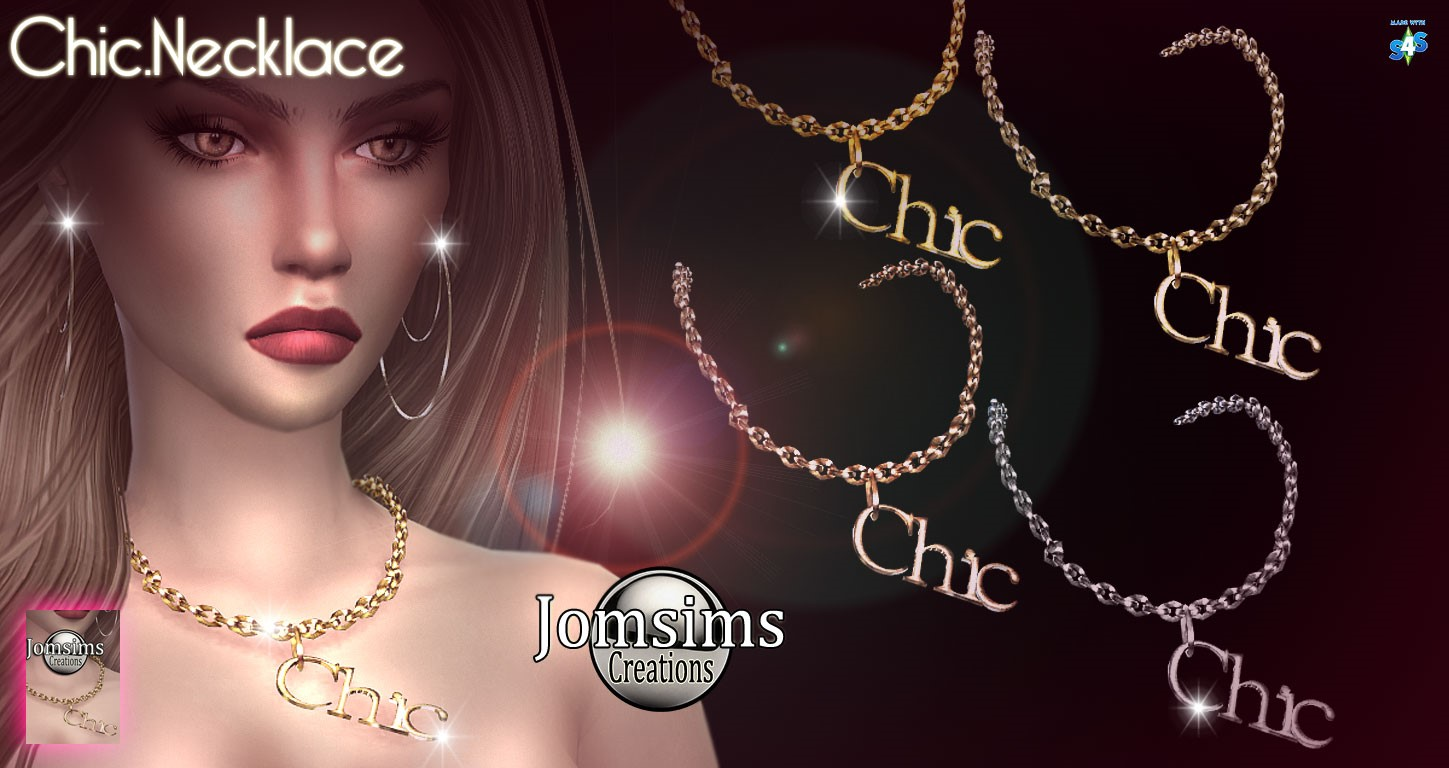 Chic necklace by Jom Sims
