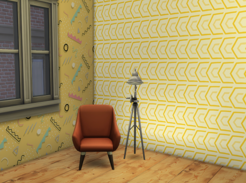Wallpaper Hipster (Big Set) by ChiLlis Sims