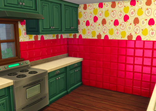 Apple Tiles by ChiLlis Sims