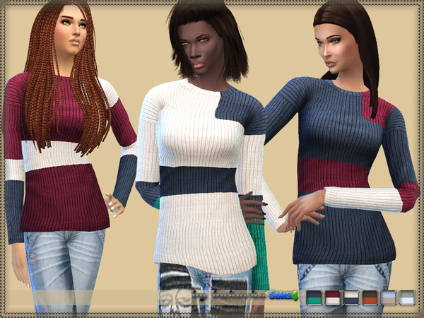 Sweater Three Colors by bukovka
