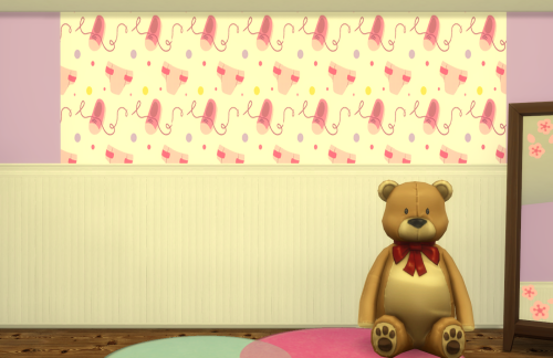 Baby Shower Wallpaper by ChiLlis Sims