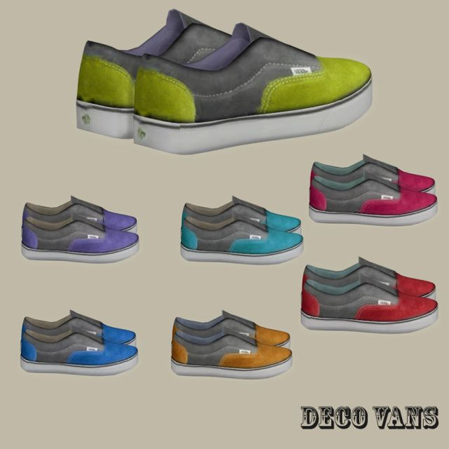 Van Shoes Deco by Leo-Sims
