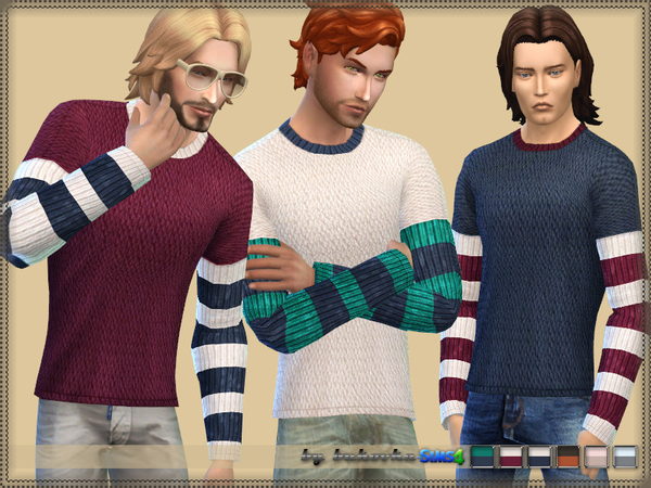 -Sweater Three Colors- by bukovka