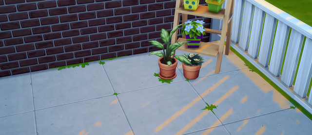 Grass In The Cracks Floor Decals by Cupidjuice