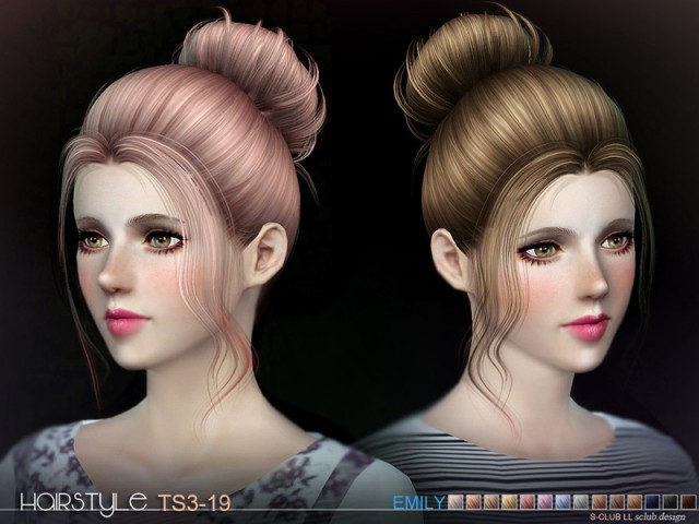 LL TS3 Hair N19 by S-Club