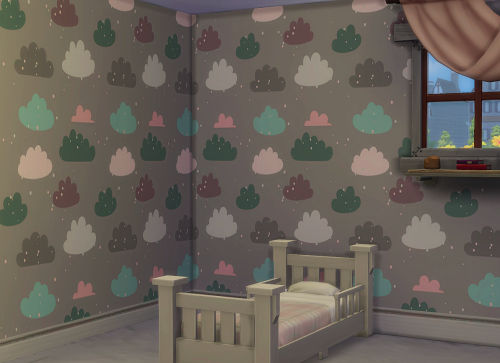 Pastel Clouds Wallpaper by ChiLlis Sims