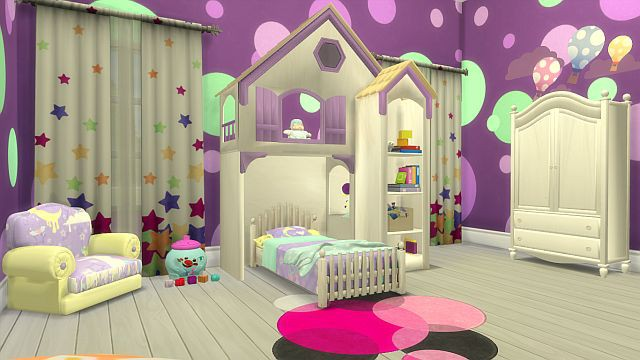 Fairytale Bedroom Set for Toddlers by SanjanaSims