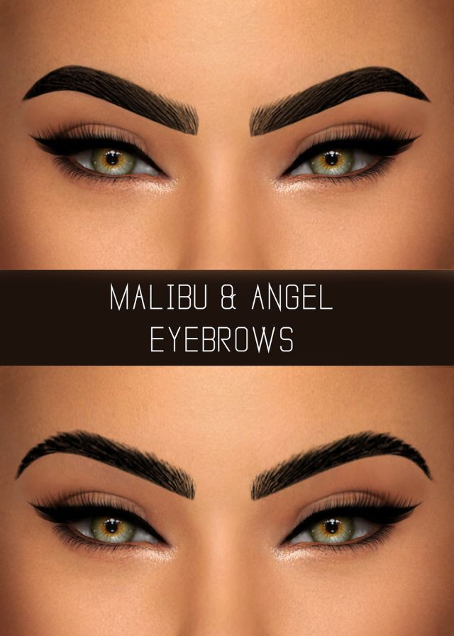 MALIBU & ANGEL EYEBROWS by Simpliciaty