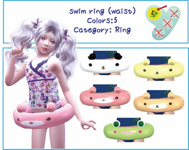 swim ring by A-luckyday