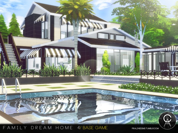 Family Dream Home 4 by Pralinesims