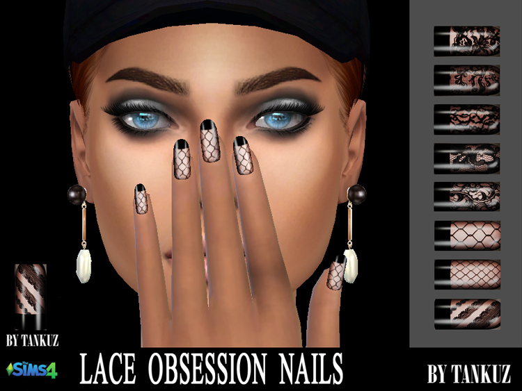 Lace Obsession Nails by Tankuz