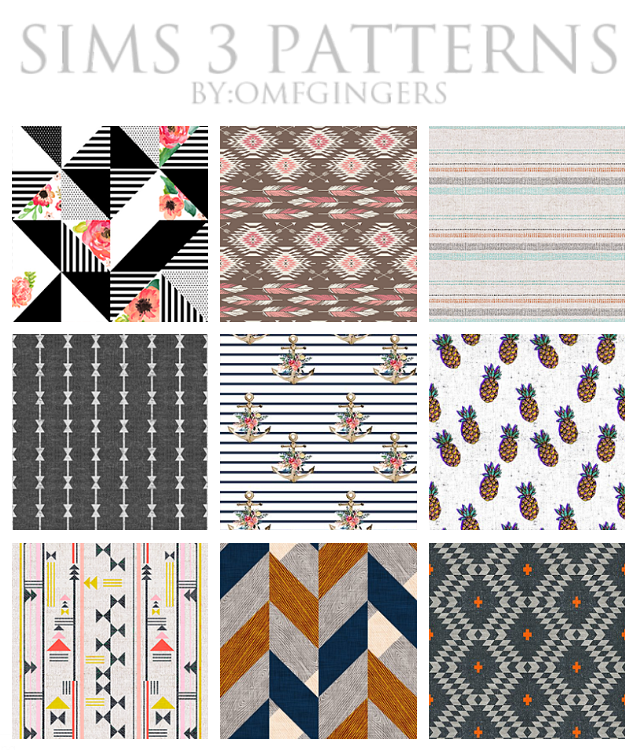 Patterns 4-29-17 by Omfgingers