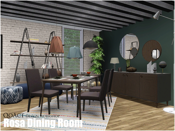 Rosa Dining Room by QoAct