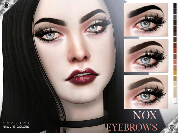 Nox Eyebrows N110 by Pralinesims