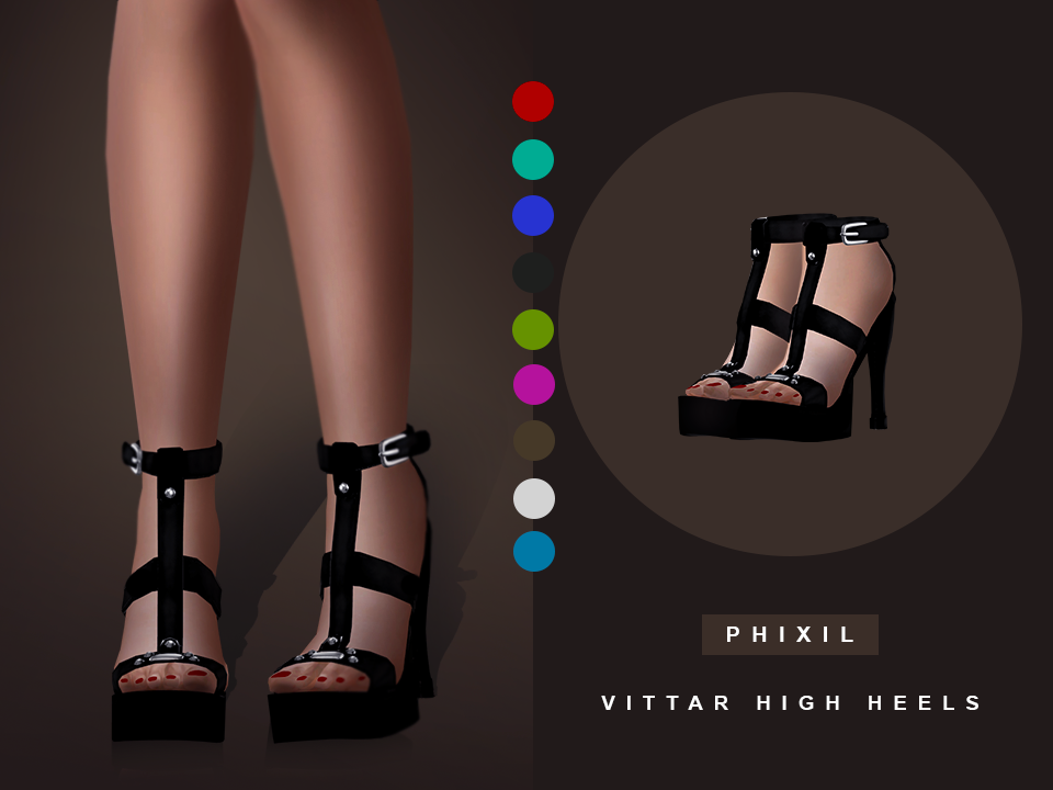 Vittar High Heels by Phixil