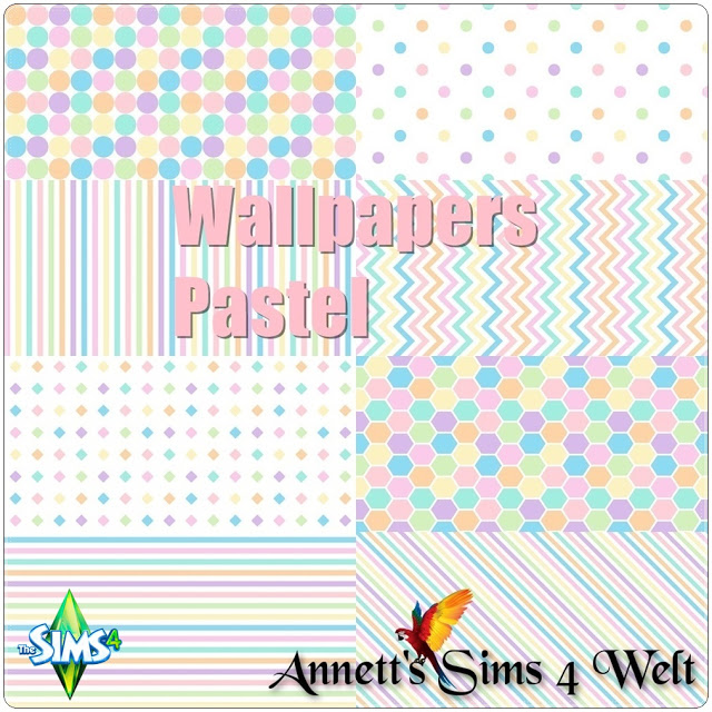 "Wallpapers ""Pastel"" by Annett85"
