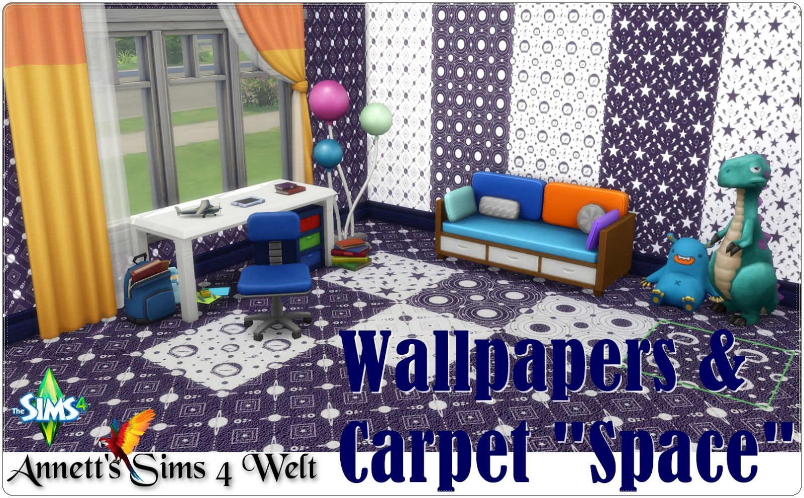 "Wallpapers & Carpet ""Space"" by Annett85"