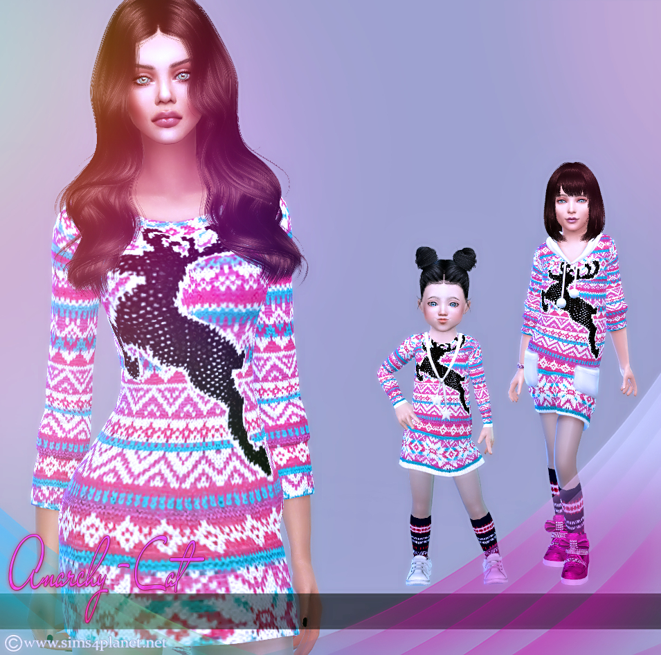 Clothing for females, children & toddler #1 by Anarchy-Cat
