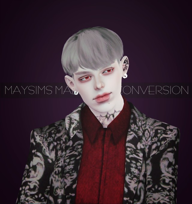 Maysims male hair 264 4to3 Conversion by effiethejay