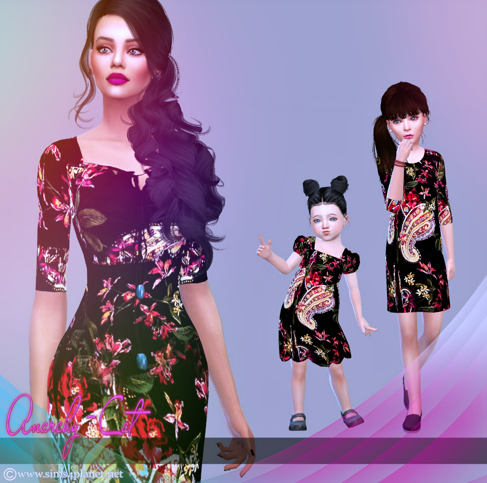 Clothing for females, children & toddler #2 by Anarchy-Cat