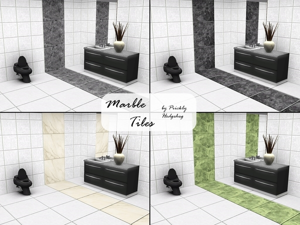 Marble Tiles by Prickly Hedgehog
