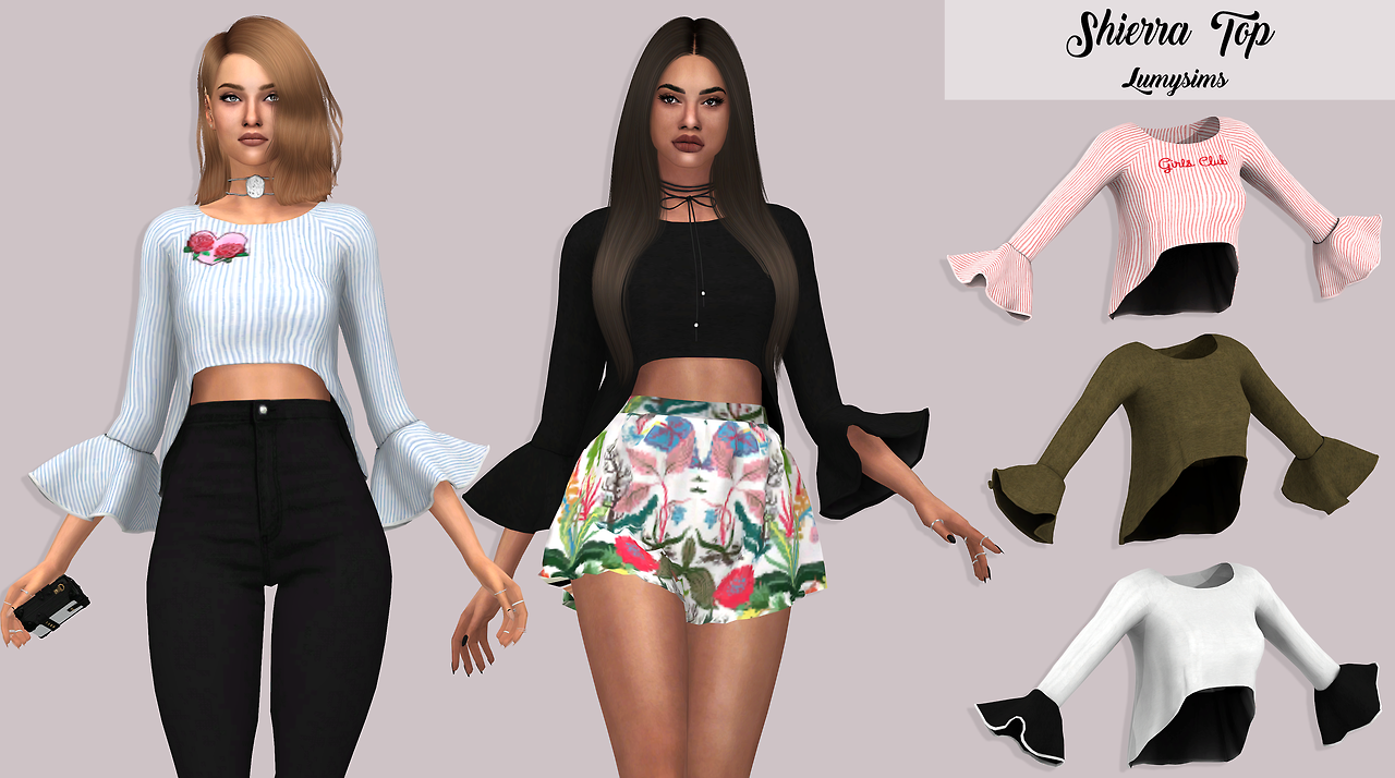 SHIERRA TOP by lumysims