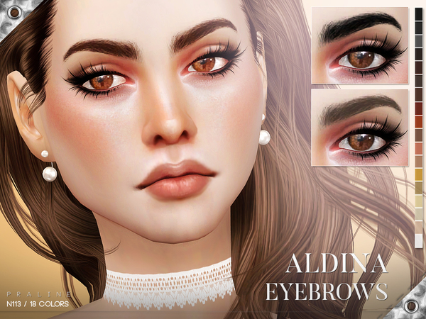 Aldina Eyebrows N113 by Pralinesims