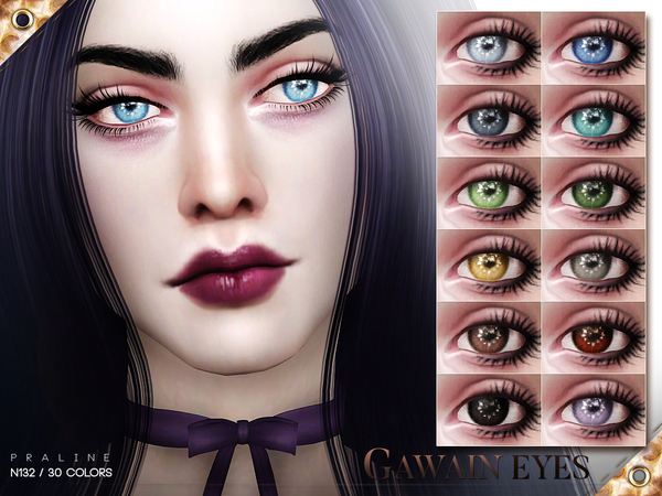 Gawain Eyes N132 by Pralinesims