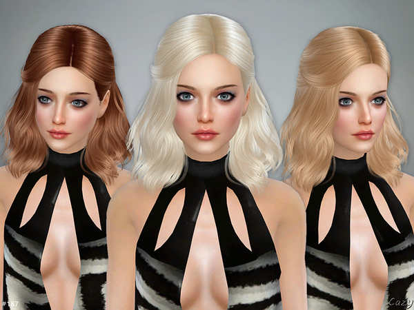Haley - Female Hairstyle by Cazy