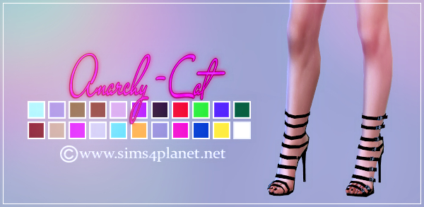 Madlen Taboo Shoes by Anarchy-Cat