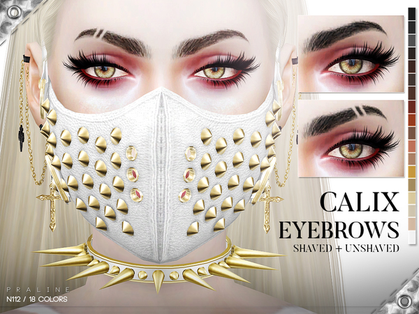Calix Eyebrow Duo by Pralinesims