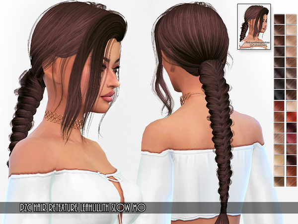Retexture Leah Lillith Slow Mo Hair by Pinkzombiecupcakes