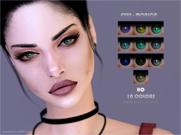 Monica eyes by ANGISSI