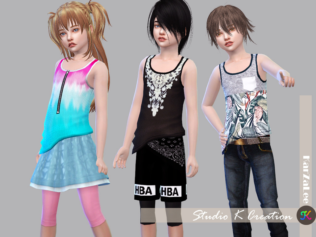 Giruto 23 Tank top - Child version by Karzalee