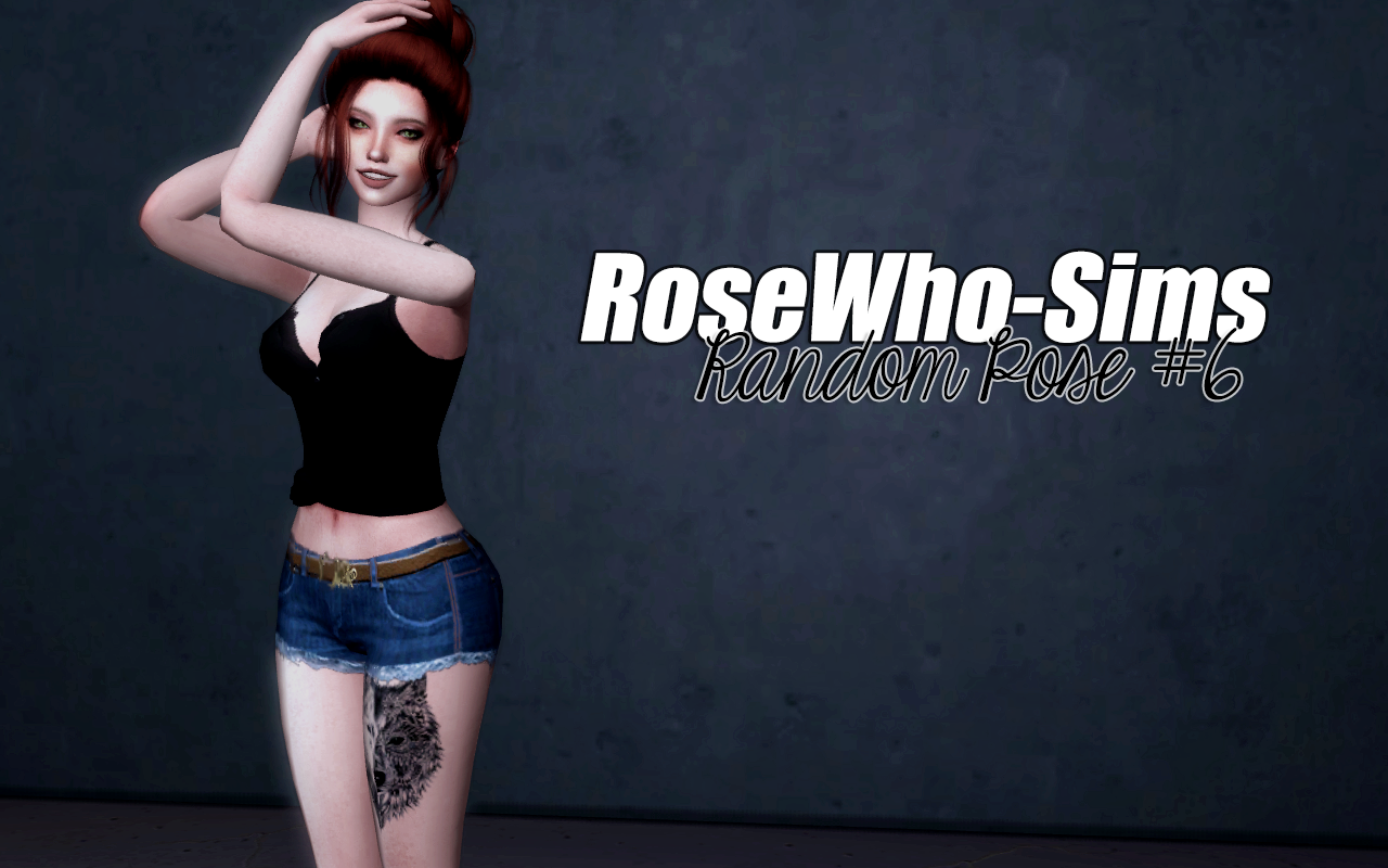 Random Pose #6 by rosewho-sims